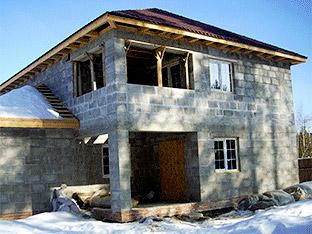 Строительство домов из блока