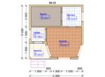 Проект бани 5х5м ББ-33 - план помещений