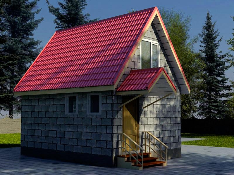 Проект дома 4.5х6м ДП-03