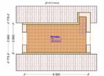 Проект дома 4.5х6м ДП-03 - план 2 этажа