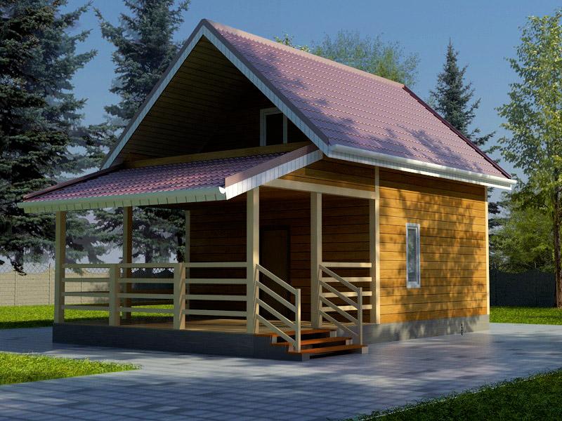 Проект дома 5.5х9.5м ДБ-33
