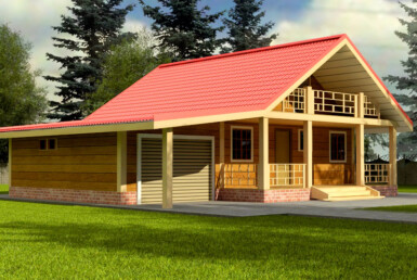 Проект дома 6х12м ДБ-48