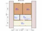 Проект дома 6х12м ДБ-48 - план 2 этажа