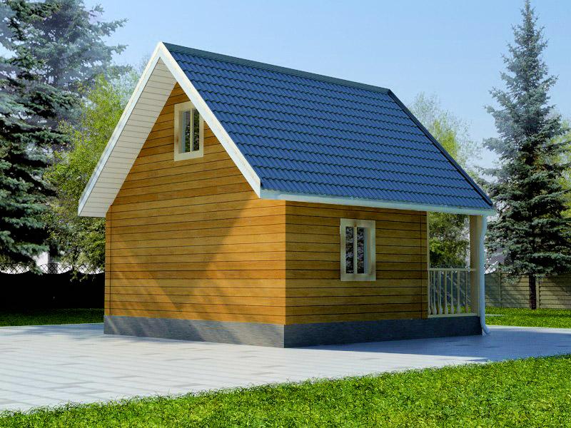 Проект дома 6х6м ДБ-03