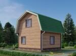 Проект дома 6х6м ДБ-05