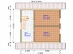 Проект дома 6х6м ДБ-05 - план 2 этажа