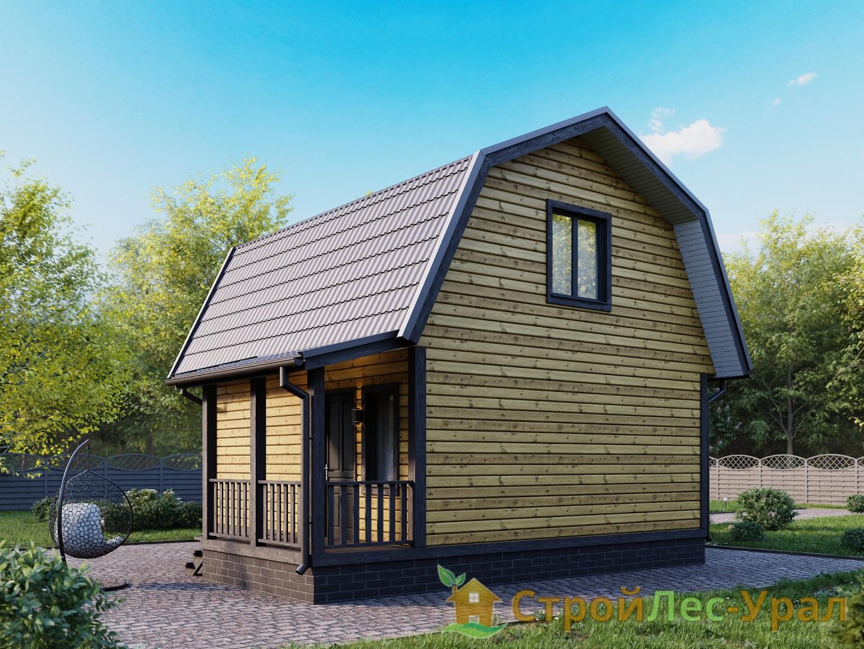 Проект дома 6х6м ДБ-29