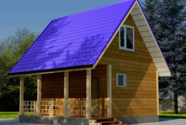 Проект дома 6х6м ДБ-30