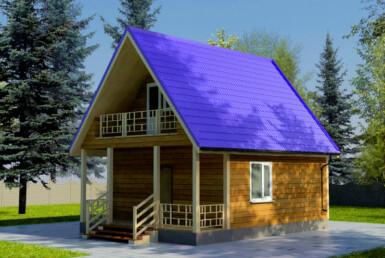 Проект дома 6х6м ДБ-31