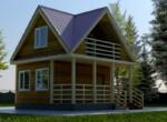 Проект дома 6х6м ДБ-39
