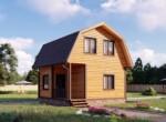 Проект дома 6х6м ДБ-43