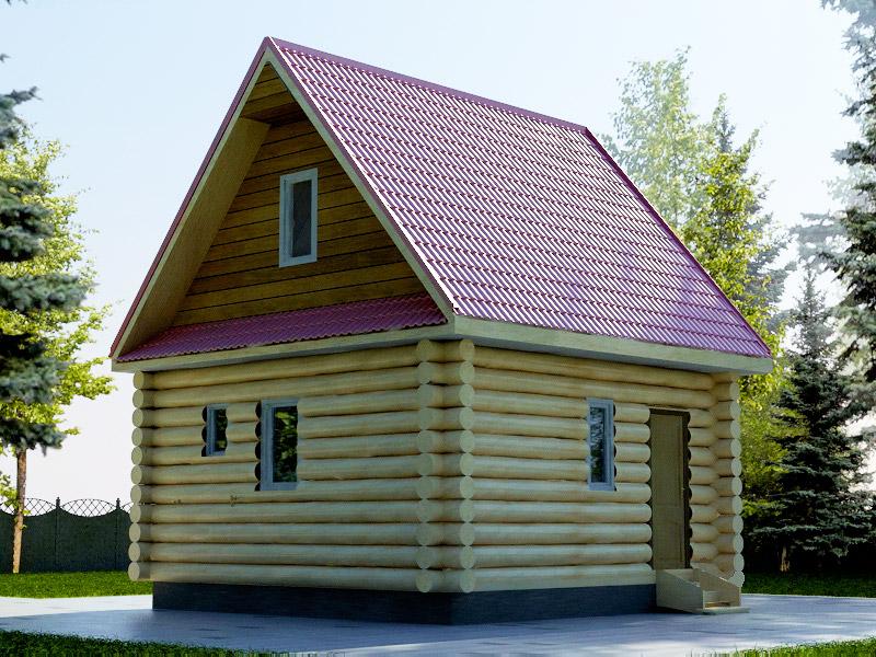 Проект дома 6х6м ДБ-47