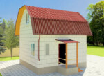 Проект дома 6х6м ДП-04