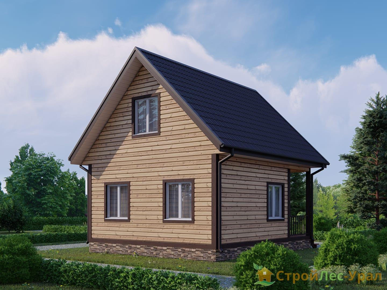 Проект дома 6х7м ДБ-27