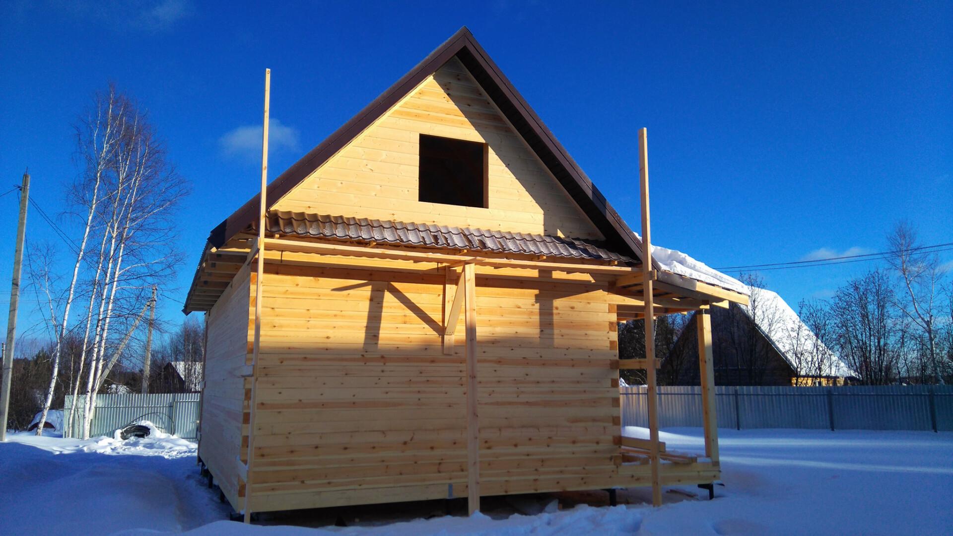 Проект дома 6х9м ДБ-22