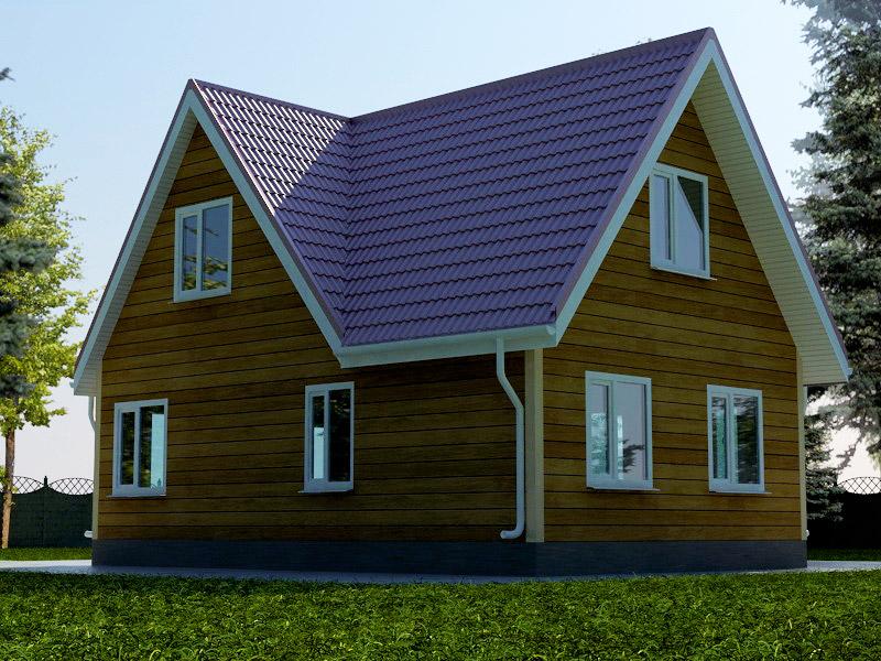 Проект дома 6х9м ДБ-35