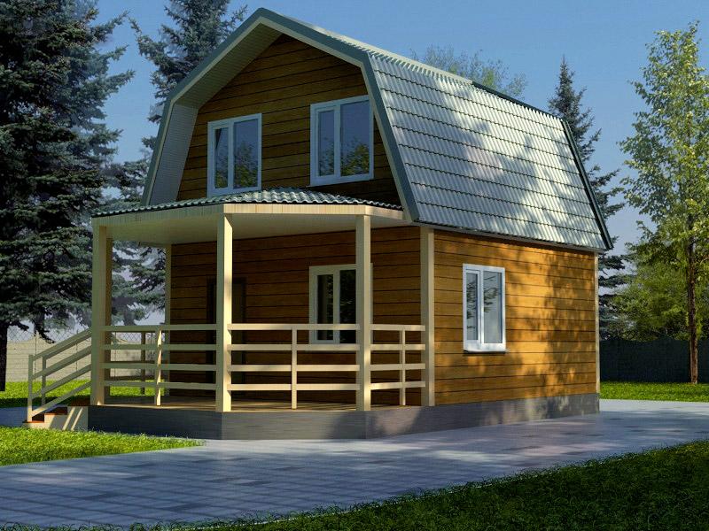 Проект дома 6х9м ДБ-38