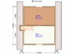 Проект дома 6х9м ДБ-38 - план 2 этажа
