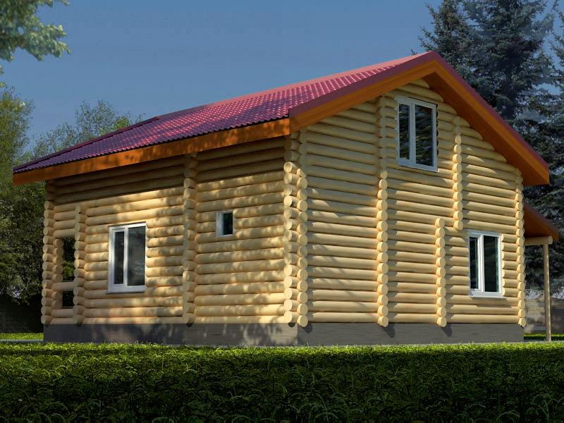 Проект дома 8х10м ДБ-06