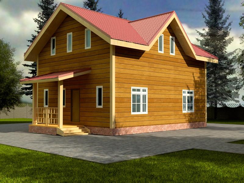 Проект дома 8х10м ДБ-51