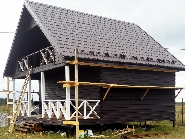Проект дома 8х8м ДБ-41