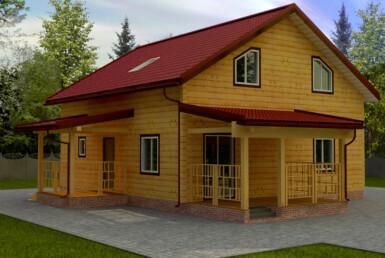 Проект дома 9х9м ДБ-50