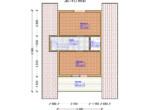 Проект дома 6х8м ДБ-14 - план 2 этажа