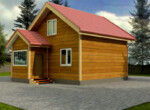 Проект дома 7х9м ДБ-57