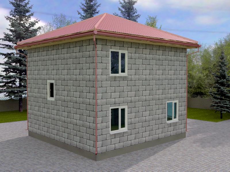 Проект дома 8х8м ДП-06