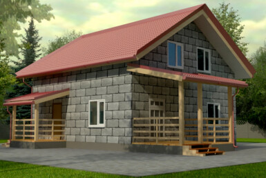 Проект дома 9х9м ДП-07