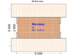 Проект бани 5х6 ББ-48 (план 2 этажа)