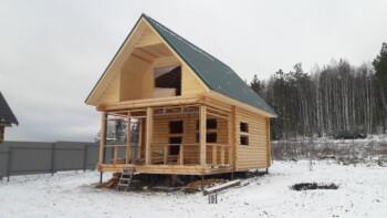 Проект дома 6х6 ДО-01 и бани БО-12