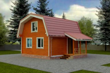 Проект дома 6х6м ДО-03
