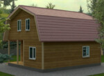 Проект дома 8х10м ДБ-59