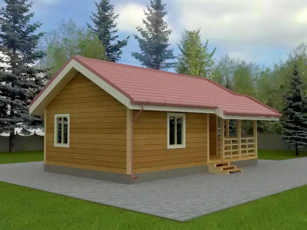 Проект дома 6х9м ДБ-63