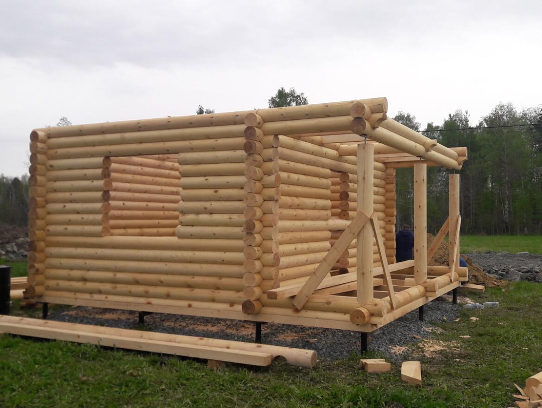 Проект бани 6х6м БО-15