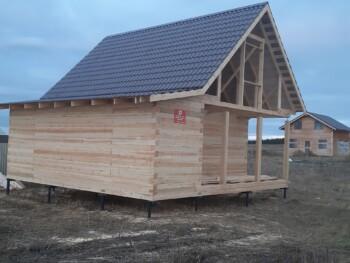 Проект дома 8х7.5м ДБ-69