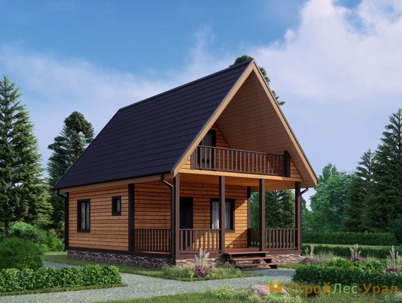 Проект дома 6х9м ДБ-73